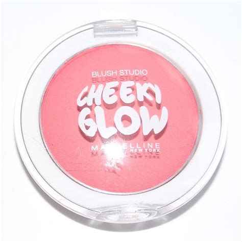 Maybelline Blush On Cheeky Glow phấn m 225 hồng maybelline cheeky glow blush 7g ellyza