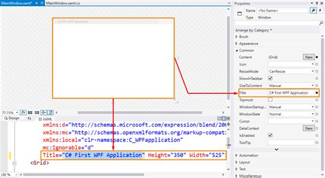 xaml layout basics c wpf tutorial create first wpf desktop application