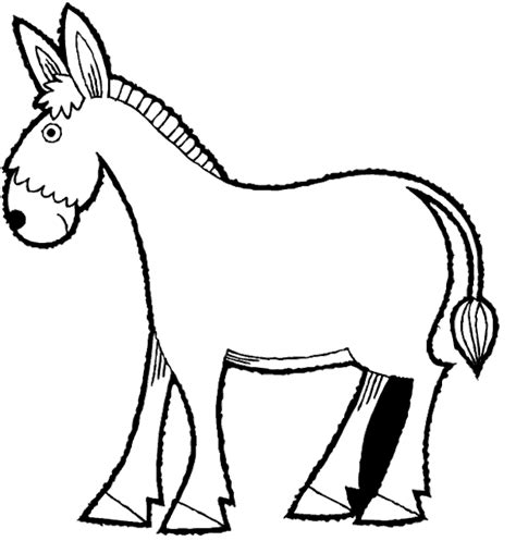 donkey coloring pages preschool pictures of the process of making the nativity