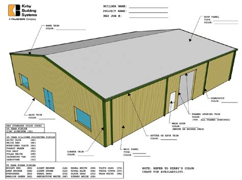 Shed Components by Kirby Building Systems