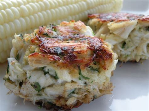 easy crab cake recipe pure and simple crab cakes just seafood pinterest