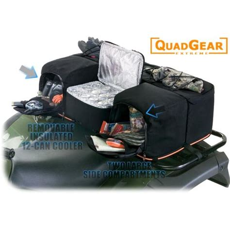 Atv Rear Rack Bag With Cooler by Atv Soft Luggage Bags