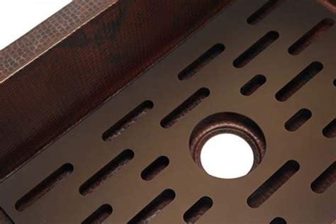 traxx grate for copper kitchen sink copper sinks