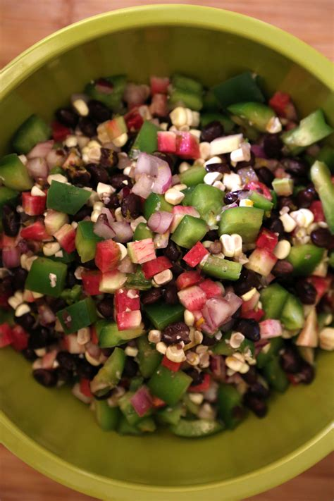 black bean salad popsugar food