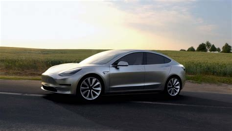 Electric Car Tesla Tesla Model 3 Electrifies The World Electric Cars Fit