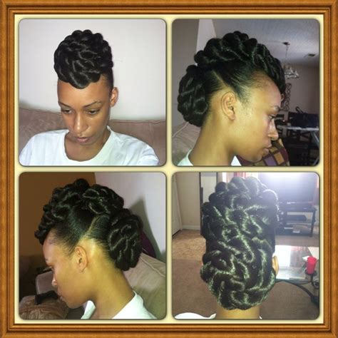 faux bun hairstyles twist bun mohawk newhairstylesformen2014 com