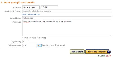 Buy Amazon In Gift Card - how to turn an unwanted visa gift card into amazon gold