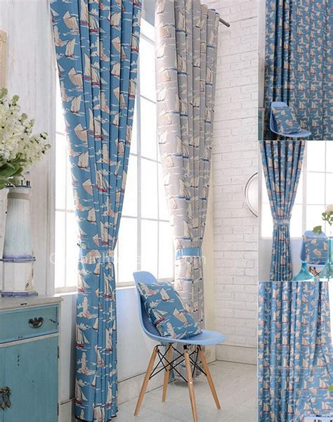 beach inspired curtains nautical beach themed curtains best house design