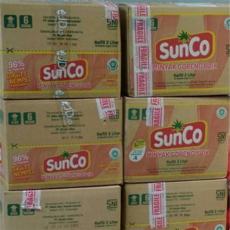 Minyak Goreng Sunco 2l 6 Pouch minyak goreng sunco 2l shopee indonesia