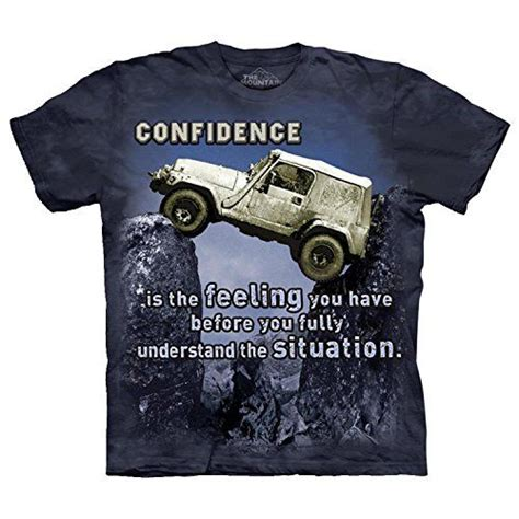 jeep life shirt jeep confidence tee shirt very cool design jeep apparel
