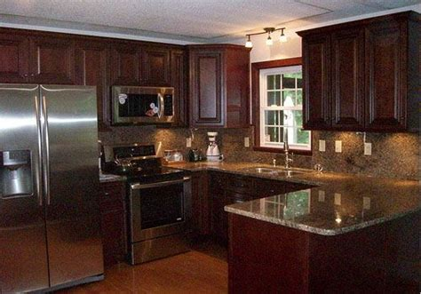 American Countertops by Brown Granite With Cabinets This American