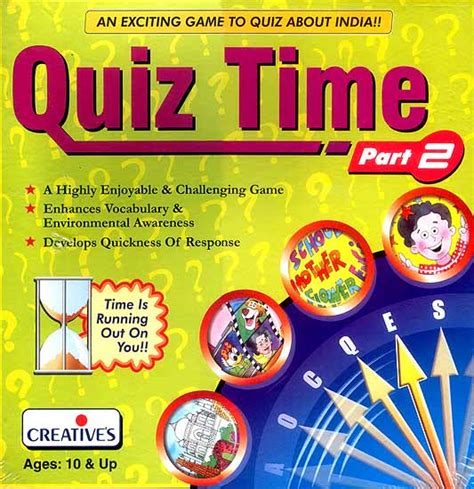 Quiz Time Book quiz time an exciting to quiz about india a highly