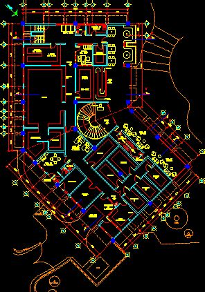 Industrial Kitchen Design Layout Restaurant 2d Dwg Plan For Autocad Designs Cad