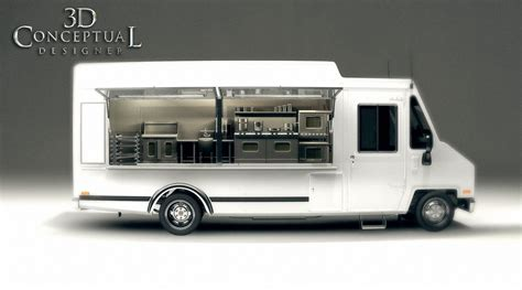 food truck design video 3dconceptualdesignerblog july 2010