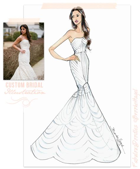 fabulous doodles fashion illustration by hagel