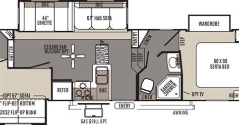 rockwood 5th wheel floor plans rockwood signature ultra lite fifth wheel by forest river