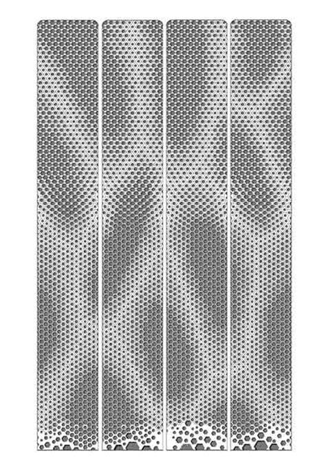 design pattern facade sinosteel tianjin china mad architects economic hub