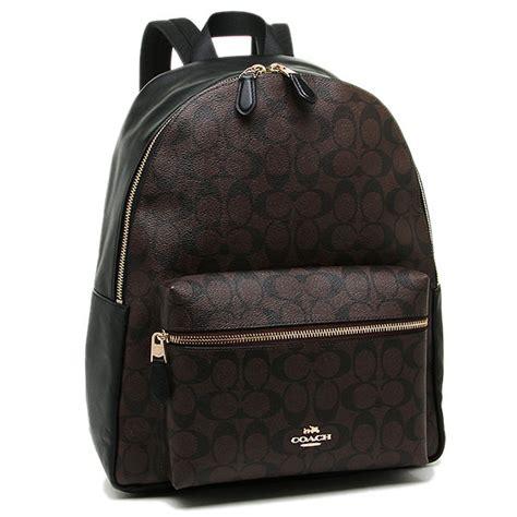 Backpack In Signature 38301 Brown spreesuki coach backpack in signature black brown f58314