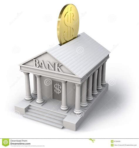 bank de bank icon stock illustration illustration of clipping