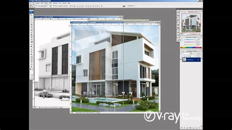 tutorial sketchup render vray v ray for sketchup ambient occlusion tutorial youtube
