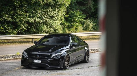 lowered amg benzboost this is the meanest c class you ve ever seen
