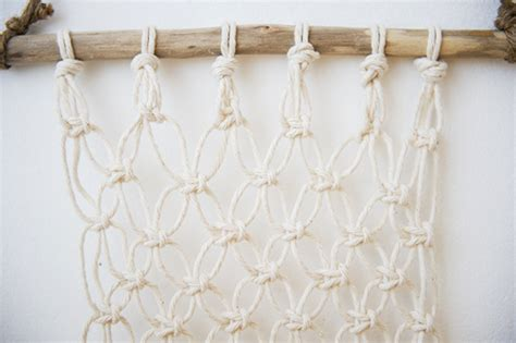 How To Make A Macrame Wall Hanging - macrame wall hanging chasing saturdays