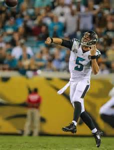 Jaguars Coaches Still No Qb Controversy Jaguars Coach Says Chad Henne