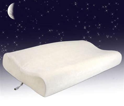Soundasleep Pillow by Sound Asleep Memory Foam Pillow Iwoot