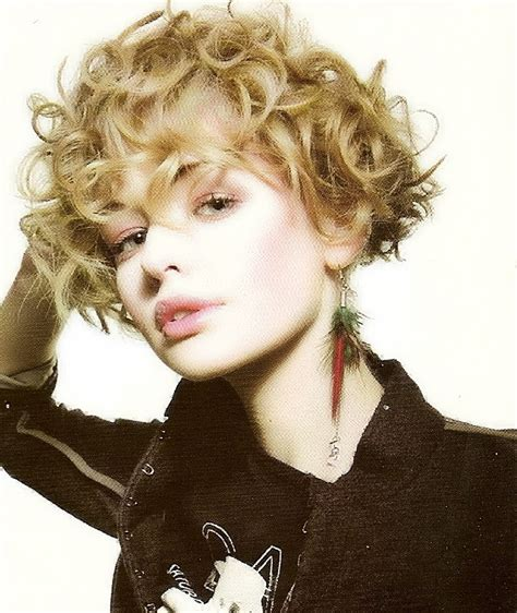 Cute Short Curly Hairstyles Fashion Trends Styles For