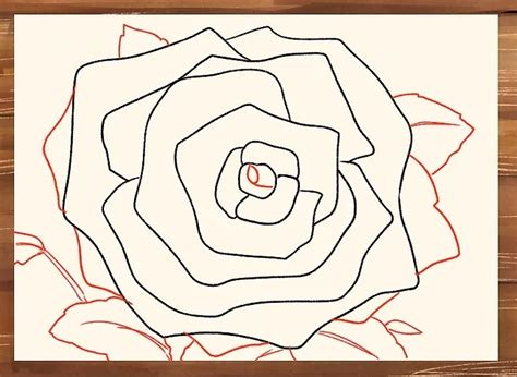 tutorial menggambar mawar gambar menggambar bunga mawar menggunakan pensil pemula