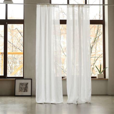 linen curtain panel garza linen curtain panel by linenme notonthehighstreet com