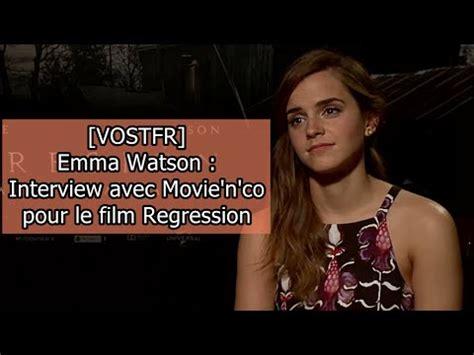 emma watson youtube interview vostfr emma watson interview avec movie n co pour le