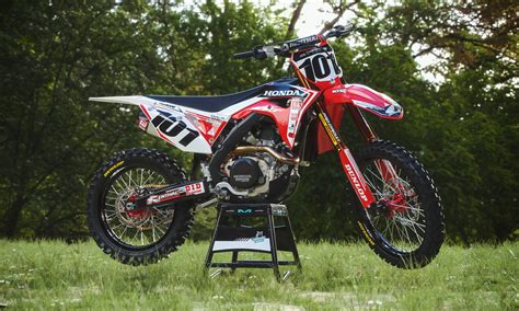 Honda 450 Sticker Kits by 2018 Honda Crf 250 450 Graphic Kits Customize Your Own