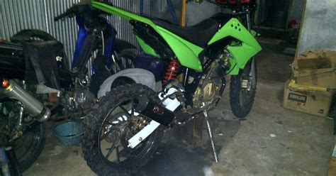 Lu Tembak Motor Rx King modifikasi motor trail modifikasi trail satria fu
