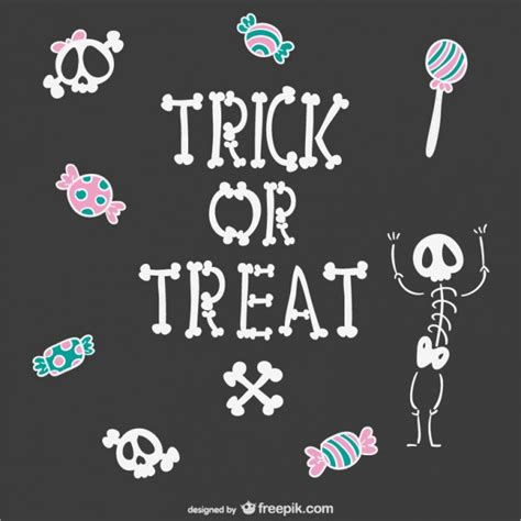 imagenes halloween truco o trato truco o trato dibujo de fondo descargar vectores gratis