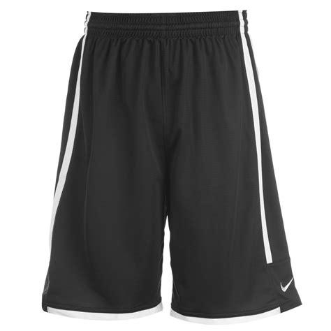 League Black White nike league shorts mens black white basketball ebay