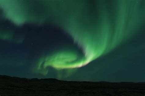 do the northern lights appear less spectacular to the