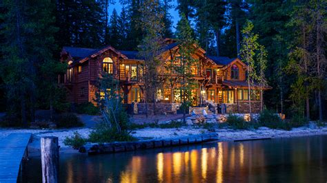Hosue Plans Priest Lake House Mountain Architects Hendricks