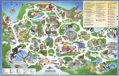map world san diego zoos san diego seaworld