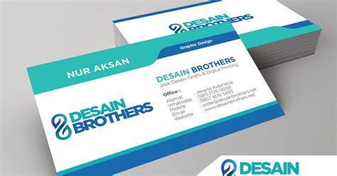 cara desain kartu nama elegan jasa desain kartu nama murah desain brothers