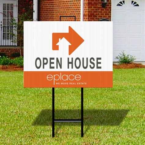 open house real estate signs independent real estate signs for sale open house and more dee sign