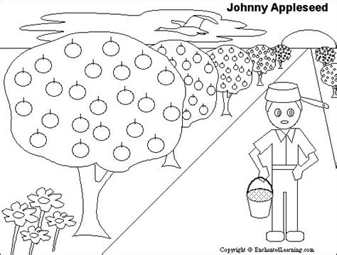 1000 Ideas About Johnny Appleseed On Pinterest Johnny Appleseed Song Apple Crafts And Tall Tales Johnny Appleseed Coloring Pages