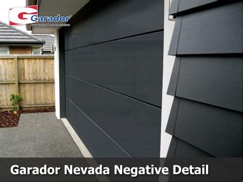 Nevada Overhead Door Garador Nevada Negative Detail Garador Auckland