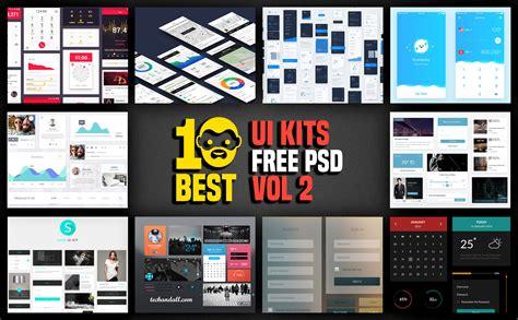 templates for ui 10 best ui kits free psd vol 2 psddaddy com