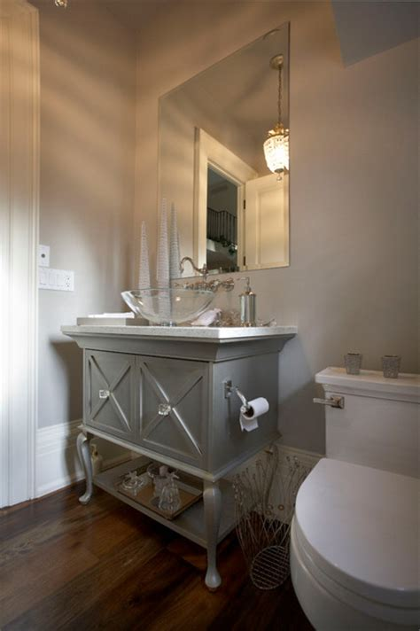 Powder Bath Vanity Manor Traditional Powder Room Toronto By