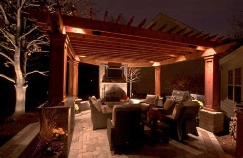 pergola lighting pictures 17 best images about bbq pergola ideas on