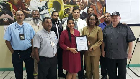 members food the bajan reporter trinbagonian catering company to get haccp certification