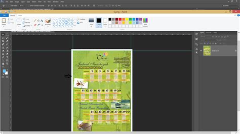 cara membuat layout desain grafis cara membuat bleeds lebihan apabila sebuah design