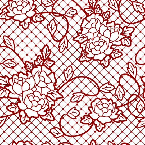 transparent decorative lace  roses png picture