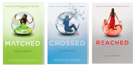 crossed the grim series books book review matched by ally condie withthebutterflies
